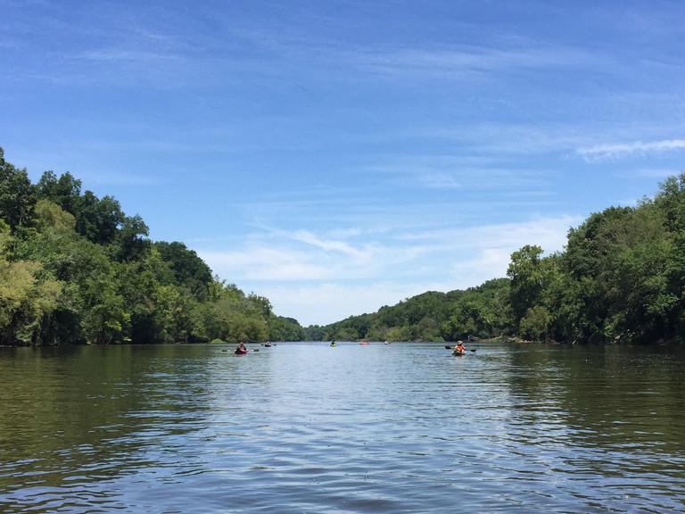 Kayaking on Buckhorn Reservoir