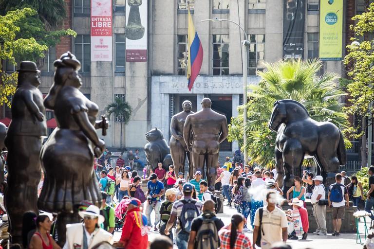 Botero Plaza, Medellin, Colombia