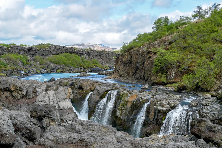 Barnafoss waterfall - Western Iceland