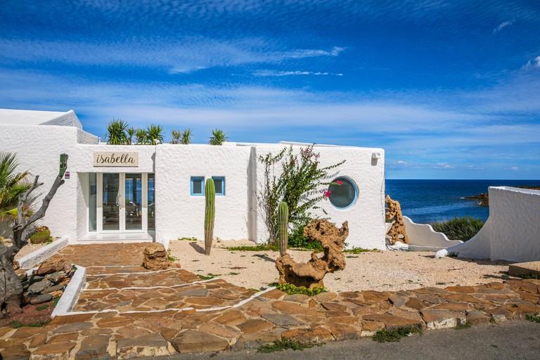 KMJ5GA Isabella Beach Club. Playas de Fornells. Fornells. Es Mercadal Municipality. Minorca Island. Balearic Islands. Spain