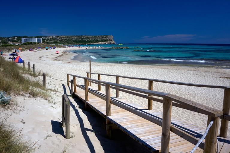 KWYEN4 Son Bou Beach Menorca Balearic Islands