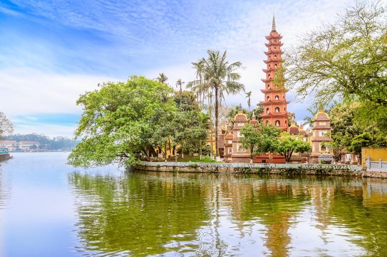 M3N38G Tran Quoc Pagoda, Hanoi, Vietnam