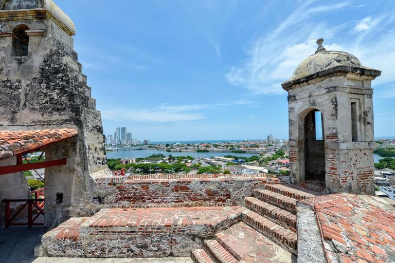 MB1PY0 San Felipe Barajas Castle in Cartagena, Colombia