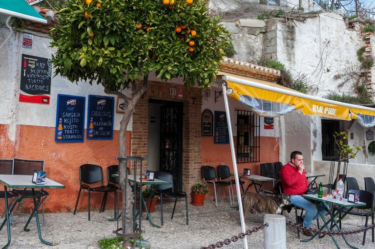 Bar Pibe, Camino del Sacromonte, Granada, Andalucia, Spain