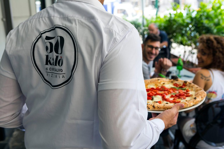 Italy, Campania, Naples, historical center listed as World Heritage by UNESCO, 50 Kalo pizzeria