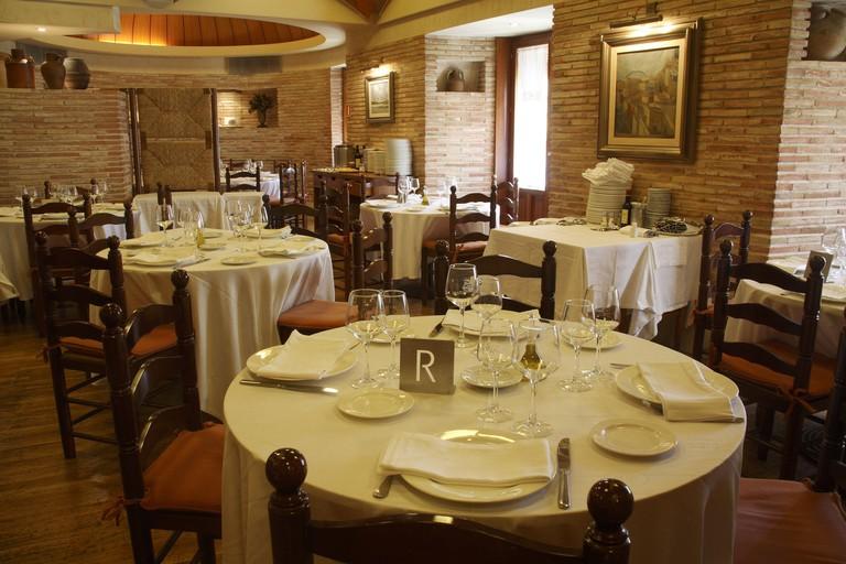 """SPAIN - Valencia autonomous region - L'Alacanti (district) - Alicante. Alicante (capital); Restaurante """"Nou Manolin""""; gastronomia mediterranea de alta calidad en ambiente selecto."""