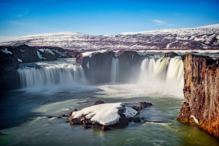 Godafoss, the Waterfall of the Gods