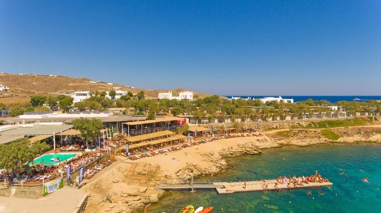 Paraga Beach Hostel, Mykonos, Greece