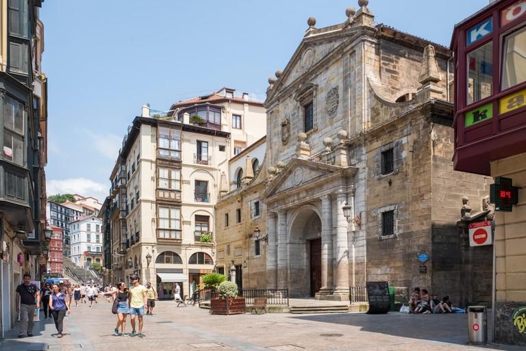 Santos Juanes Church, Old Town, Bilbao, Spain, Europe