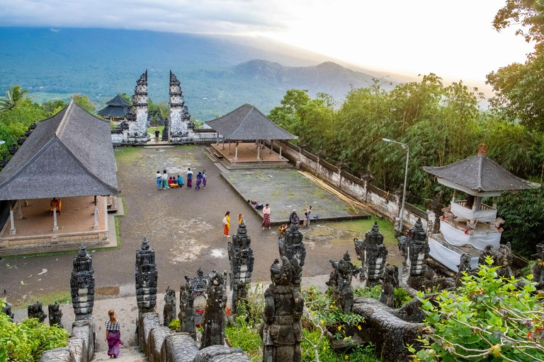 Indonesia, Bali, Amlapura, Pura Lempuyang temple - R8RAPG