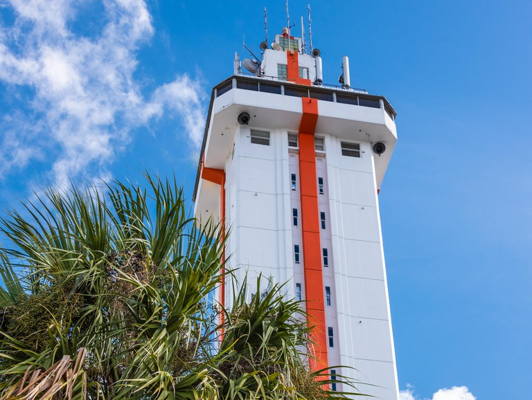 The Citrus Tower, built in 1956 as an observation tower above Central Florida's vast citrus groves, in Clermont, Florida. (USA)