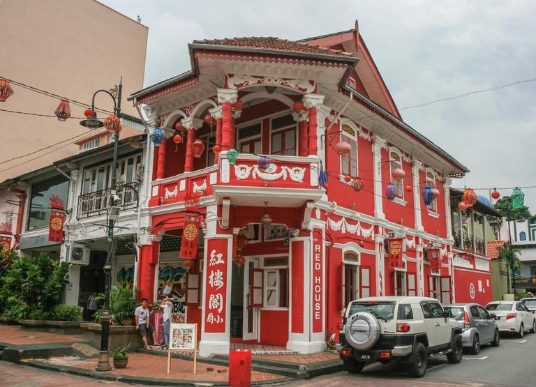 Red House cafe, Chinatown, Johor Bahru, Malaysia