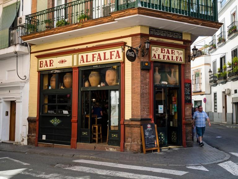 Bar Alfalfa,Seville, Andalusia,Spain,Europe