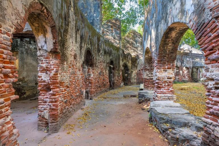 Old park, ruins of Old Kachchery - T8M05C