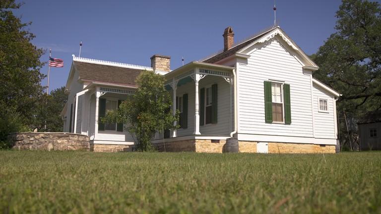 LBJ's Boyhood Home in Johnson City, Texas