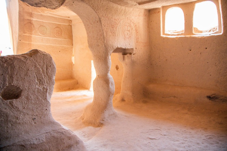 Carved Room in Zelve Valley, Cappadocia