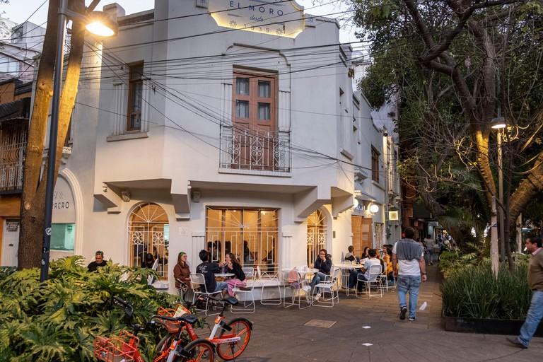 Churreria El Moro Churro cafe in Condessa , Mexico City, Mexico
