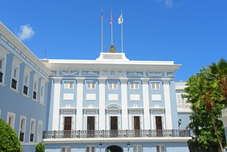 La Fortaleza is a UNESCO World Heritage Site in Old San Juan, Puerto Rico. This building is the official residence of the Governor of Puerto Rico.