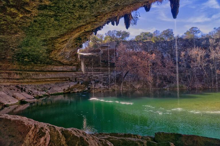 Hamilton pool cave