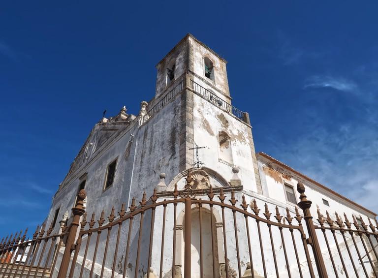 Church of St. Sebastian or Igreja de Sao Sebstiao in Lagos at the Algarve coast of Portugal