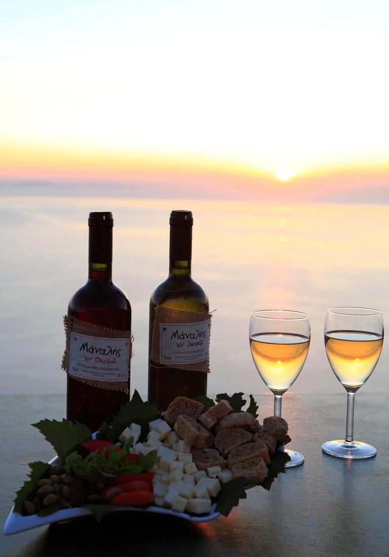 greece cyclades sikinos manalis winery