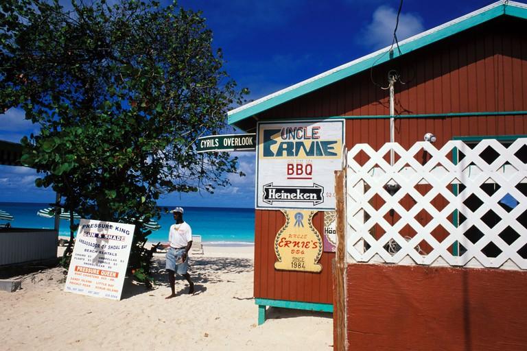 Anguilla, Shoal Bay, Uncle Ernies Beach Bar