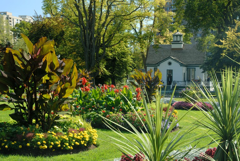 The Public Gardens, Halifax, Nova Scotia. Image shot 2007. Exact date unknown.