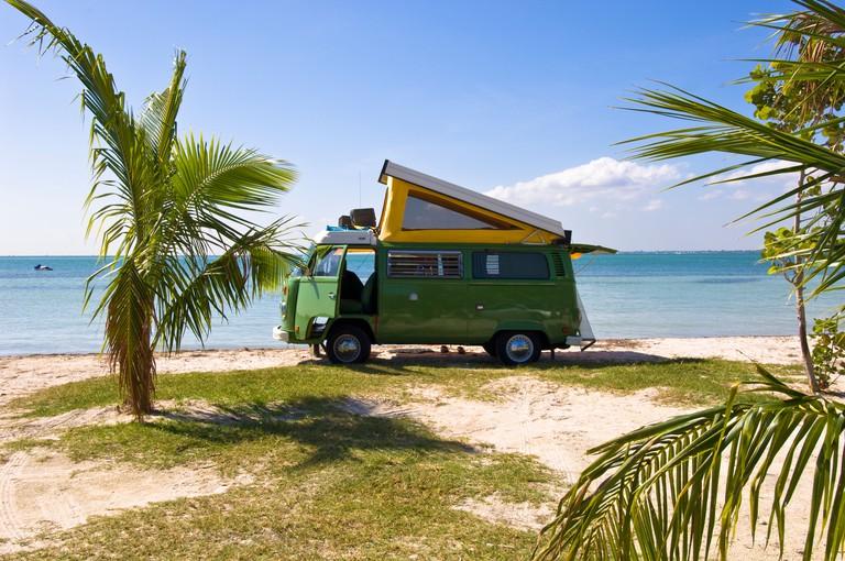 United States Of America Florida Miami beach in Key Biscayne