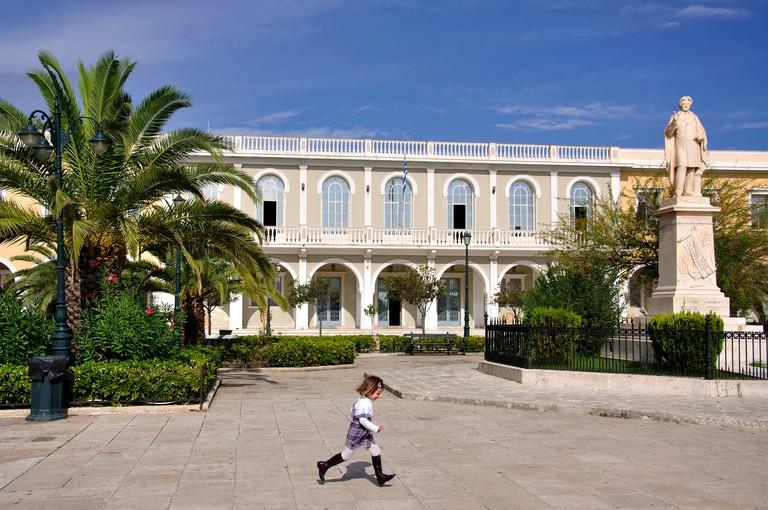Byzantine Museum, Solomou Square, Zakynthos Town, Zakynthos, Ionian Islands, Greece. Image shot 2010. Exact date unknown.