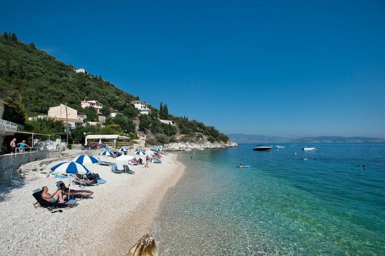 Kalamaki Beach, Corfu, Greece