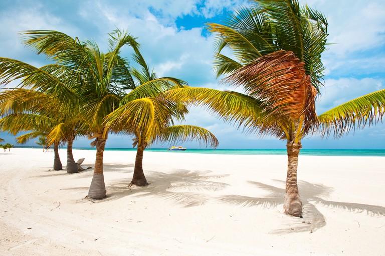 BX657J Isla Pasion (Passion Island) off Isla de Cozumel, Cozumel, Mexico, North America