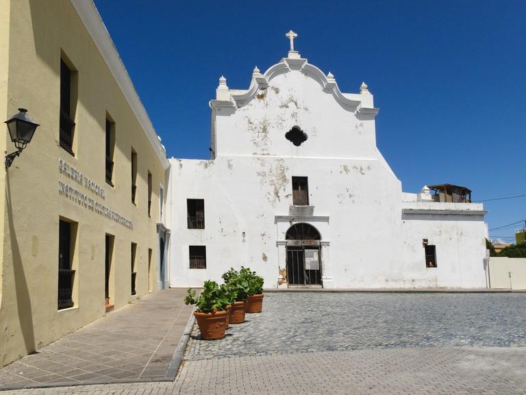 View of the San Jose Church, Old San Juan, Puerto Rico. Image shot 10/2009. Exact date unknown.