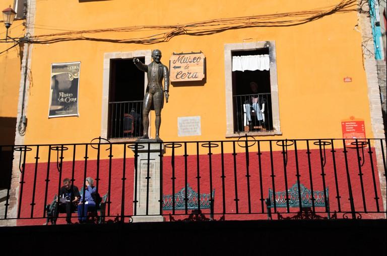 Museo de Cera, or the Wax Museum of Guanajuato, Mexico