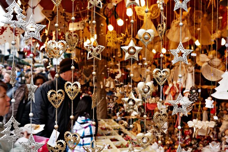 German Christmas Market, Munich Upper Bavaria Germany, Europe