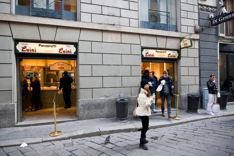Panzerotti Luini, Milan, Lombardy, Italy