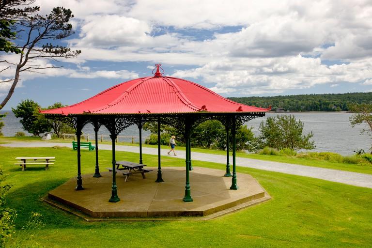 Gazebo, Point Pleasant Park, Halifax, Nova Scotia, Canada
