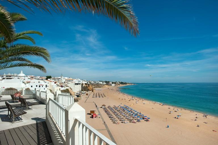 Praia do Peneco Beach, Albufeira, Algarve, Portugal