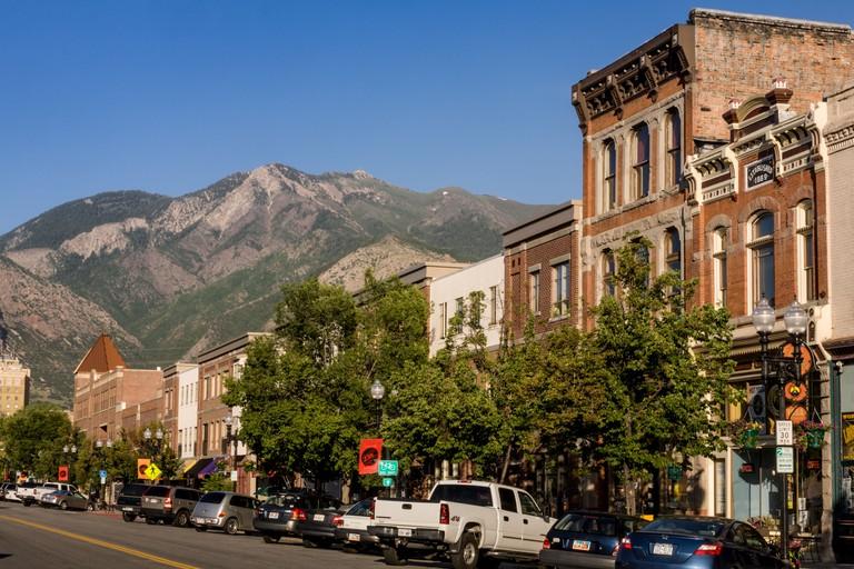 Historic 25th Street in Ogden, Utah