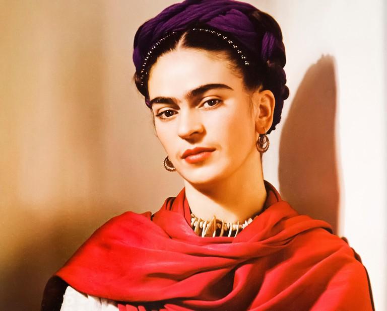 G0N9WF Portrait of Frida Kahlo by Nickolas Muray, 1939, Frida Kahlo museum, Coyoacan, Mexico City, North America