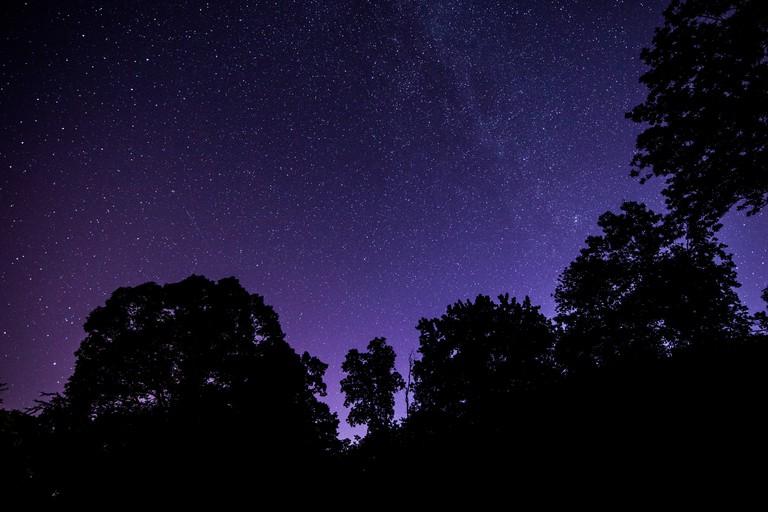 Stargazing in New Jersey, USA