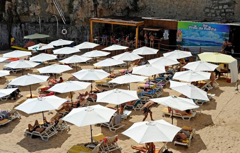 Praia da Rainha, Cascais, Lisboa, Lisbon, Portugal