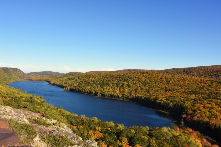 HCNDND Lake of the Clouds in Ontonagon County in the upper peninsula of Michigan within the Porcupine Mountains