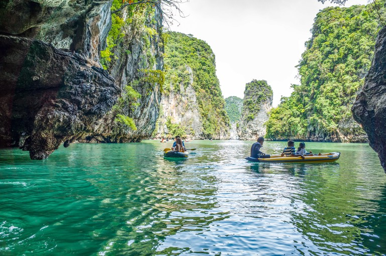 Boats to the Islands of Thailand, Asia