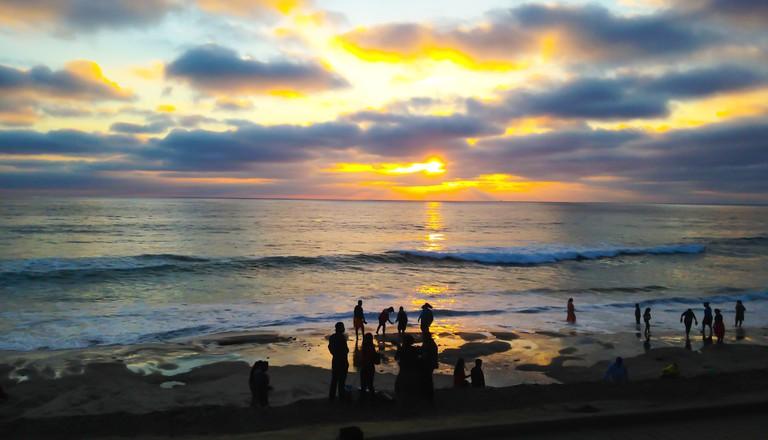 Sunset Playas De Tijuana