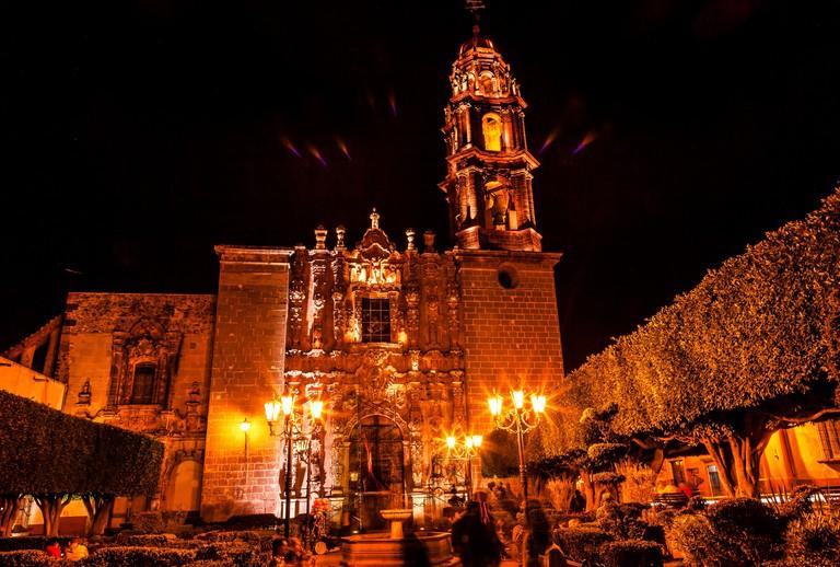 Templo de San Francisco Church, San Miguel de Allende