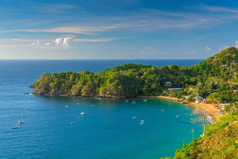 Caribbean, Trinidad and Tobago, Tobago, Castara Bay, Castara