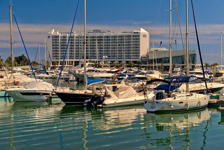 Tivoli vilamoura hotel, Vilamoura marina, Algarve, Portugal,