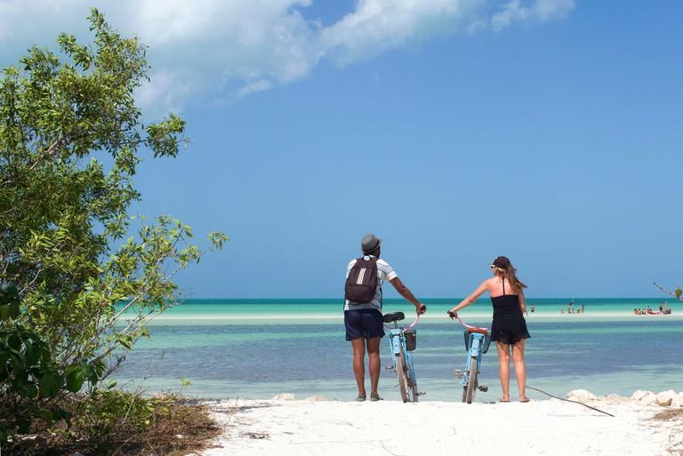 R7K9G6 Mexico, Quintana Roo, Lazaro Cardenas, Holbox island, beaches
