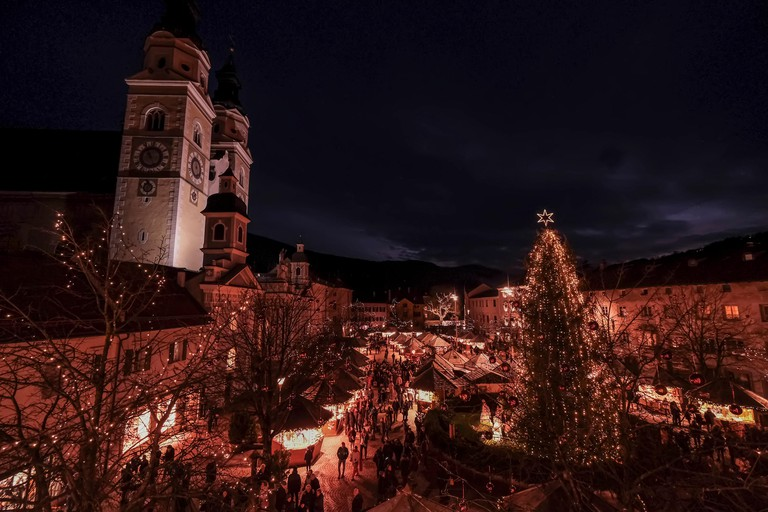 Bressanone, Italy. 3th December, 2018. Christmas atmosphere in Bressanone © Stefano Mazzola