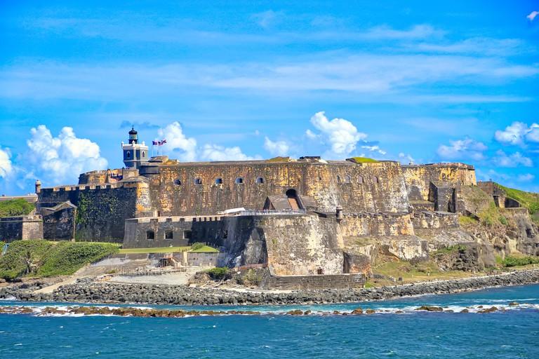 Castillo San Felipe del Morro Fortress in San Juan, Puerto Rico
